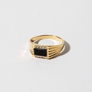 New Child of Wild The Levi Onyx Gold Ring